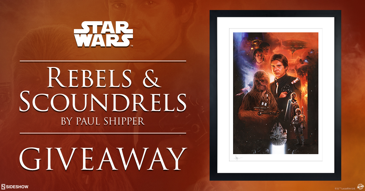Rebels and Scoundrels Fine Art Print Giveaway