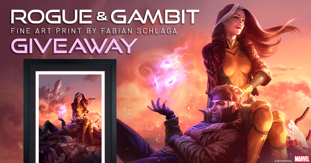 Rogue and Gambit Print Giveaway