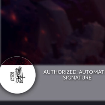 Authorized, Automated Pencil Signature on Unframed Rogue & Gambit Fine Art Print by Fabian Schlaga
