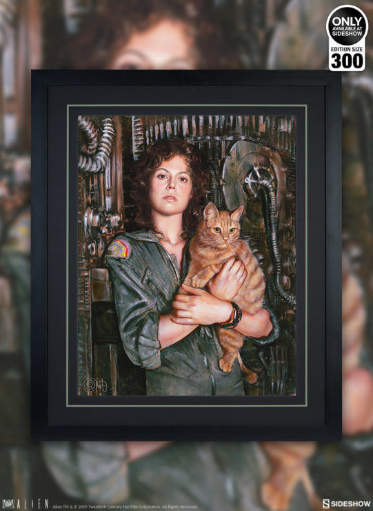 Celebrate the Alien Legacy with the Ripley Fine Art Print by Olivia De Berardinis
