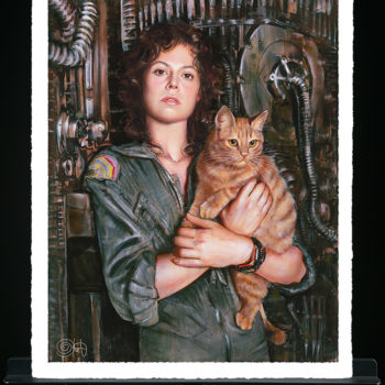 Ripley Fine Art Print by Olivia De Berardinis Unframed Sample