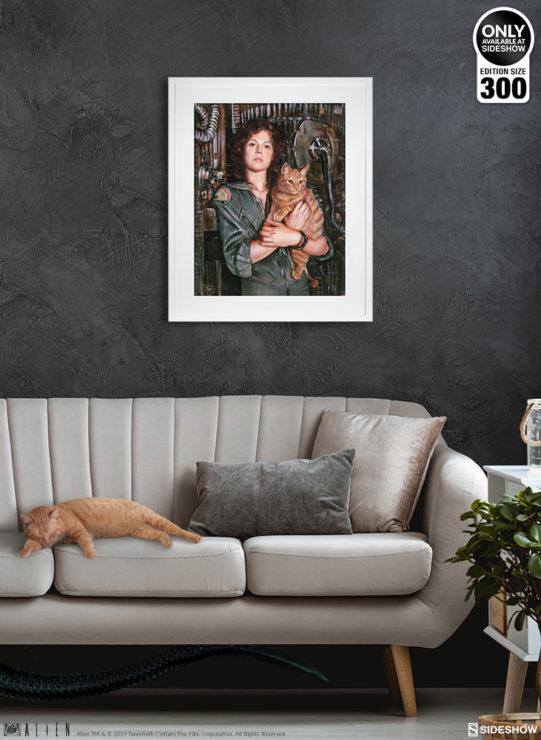 Ripley Fine Art Print by Olivia De Berardinis White Framed Environment Shot