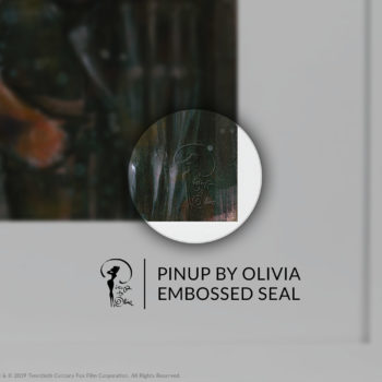 Ripley Fine Art Print by Olivia De Berardinis Embossed Seal