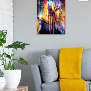Environment Sample Shot of Thanos: Infinity War HD Aluminum Metal Print by Orlando Arocena on Wall