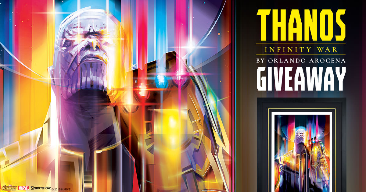 Thanos Infinity War Print Giveaway