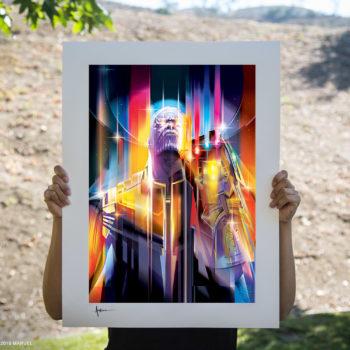 Unframed Environment Shot of Thanos: Infinity War Fine Art Print by Orlando Arocena