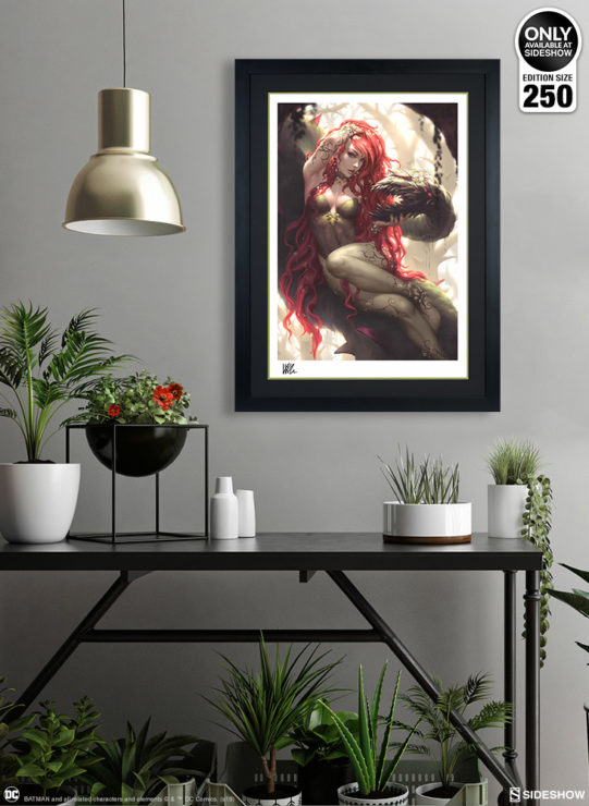 Poison Ivy Fine Art Print by Kendrick Lim- Black Framed Environment Shot