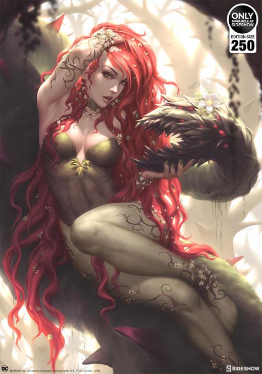 Poison Ivy Fine Art Print by Kendrick Lim