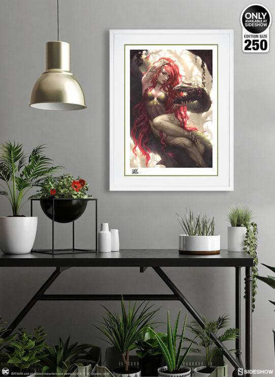 Poison Ivy Fine Art Print by Kendrick Lim- White Framed Environment Shot