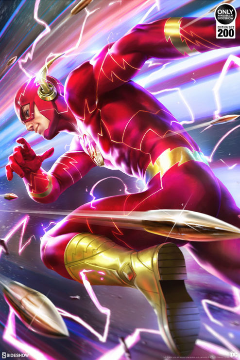 The Flash Fine Art Print by Derrick Chew