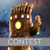 Hot Toys Infinity Gauntlet Sideshow Newsletter Giveaway