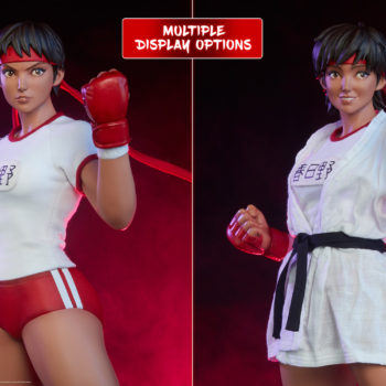 Sakura Gym Statue from PCS Collectibles- Street Fighter Dual Portraits Comparison