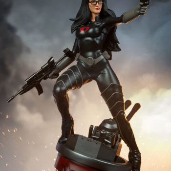Dramatic Shot of the Baroness 1:4 Scale Statue from PCS Collectibles 2