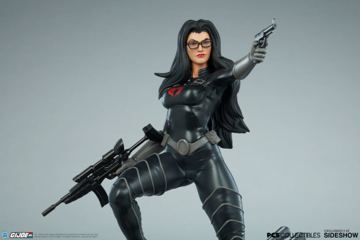The Baroness Statue from PCS Collectibles Joins the Battle Against G.I. Joe