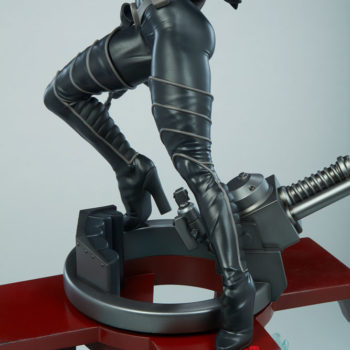 Closeup on the Turret Cannon on Baroness 1:4 Scale Statue from PCS Collectibles