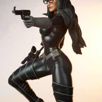 Dramatic Closeup of the Baroness 1:4 Scale Statue from PCS Collectibles