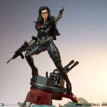 Dramatic Shot of the Baroness 1:4 Scale Statue from PCS Collectibles 3