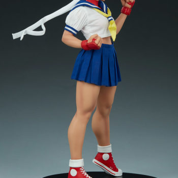 Sakura Classic Statue from PCS Collectibles- Street Fighter 3/4 Back Turn