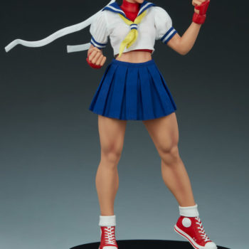 Sakura Classic Statue from PCS Collectibles- Street Fighter