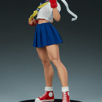 Sakura Classic Statue from PCS Collectibles- Street Fighter 3/4 Turn
