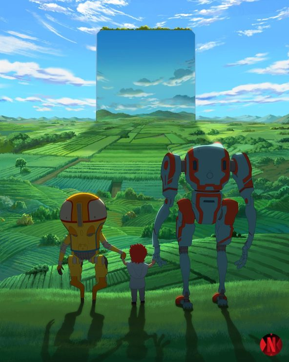 Netflix Announces Eden Sci-Fi Anime