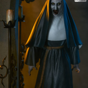 The Nun Statue from the Conjuring Universe- Exclusive Edition Rage Face Image