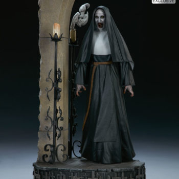 The Nun Statue from the Conjuring Universe- Exclusive Edition Rage Portrait Image 2