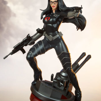Exclusive Portrait Drama Shot for Baroness 1:4 Scale Statue from PCS Collectibles
