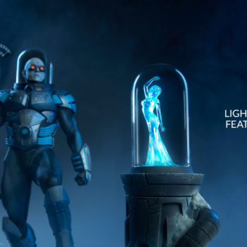 Mr. Freeze Premium Format™ Figure Exclusive Edition Nora Fries Light Up Feature