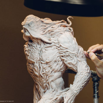 Behind the Scenes of the Swamp Thing Maquette