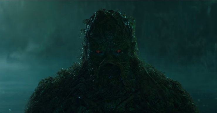 DC Universe Debuts Swamp Thing Teaser Trailer