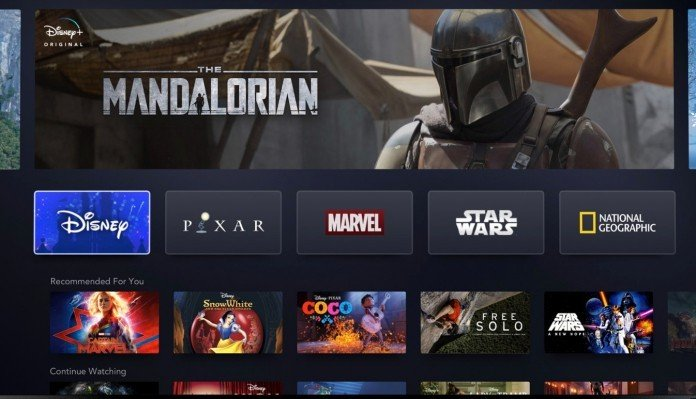 A First Look at the Disney+ Streaming Platform