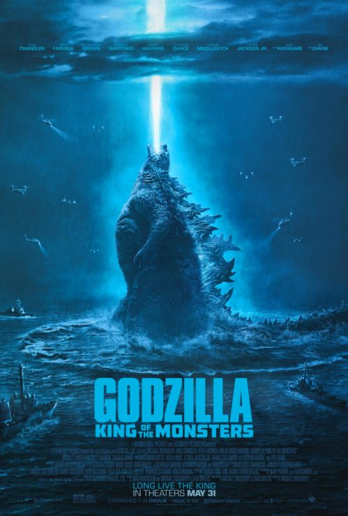 New Godzilla: King of the Monsters Movie Poster