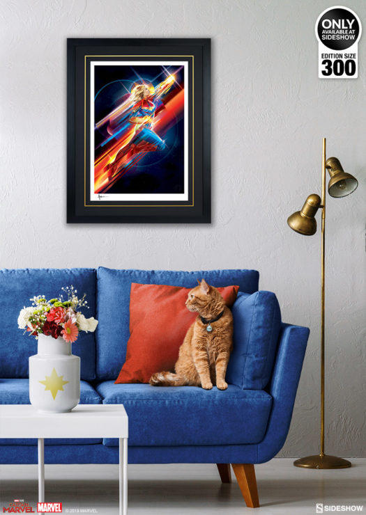 Captain Marvel Print