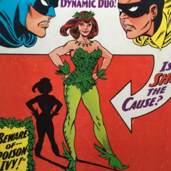 Poison Ivy- Top 10 DC Comics Costume Changes