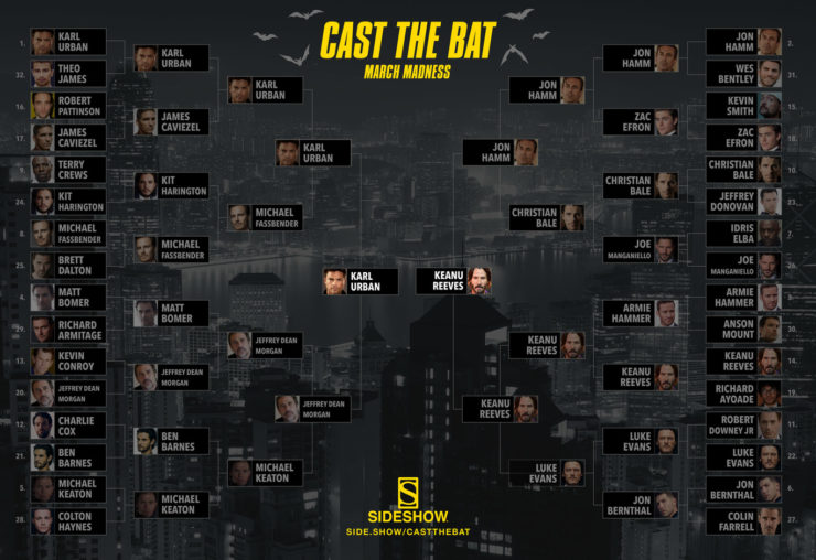Sideshow's March Madness Round 4: Cast the Bat Finals