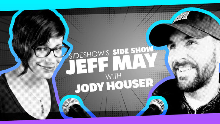 Writer Jody Houser Talks Fandom and Dream Gigs with Jeff May- Sideshow's Side Show Podcast!