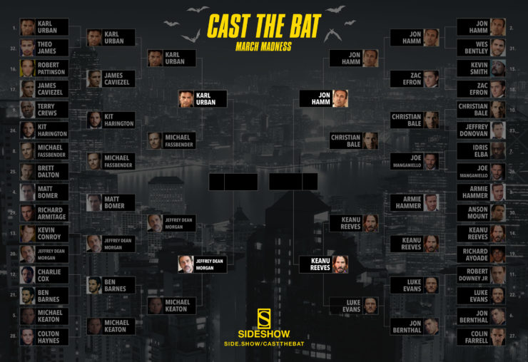 Cast the Bat March Madness- Semifinal Round