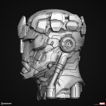 Digital Uncolored Renders of Sentinel Sculpt used for Base Designs in Sideshow's X-Men Collection 1