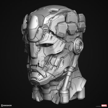 Digital Uncolored Renders of Sentinel Sculpt used for Base Designs in Sideshow's X-Men Collection 2