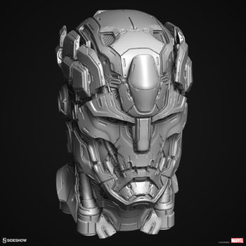Digital Uncolored Renders of Sentinel Sculpt used for Base Designs in Sideshow's X-Men Collection 4