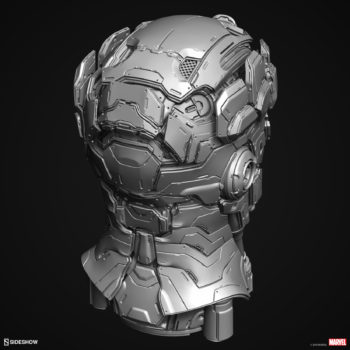Digital Uncolored Renders of Sentinel Sculpt used for Base Designs in Sideshow's X-Men Collection 5