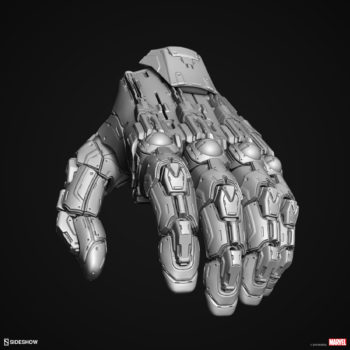 Digital Uncolored Renders of Sentinel Hand Sculpt used for Base Designs in Sideshow's X-Men Collection 3