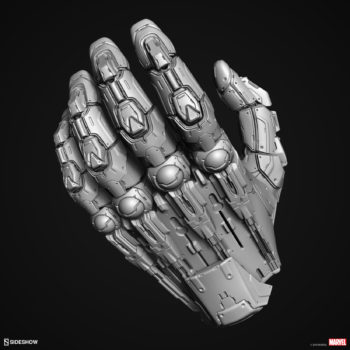 Digital Uncolored Renders of Sentinel Hand Sculpt used for Base Designs in Sideshow's X-Men Collection 1