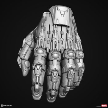 Digital Uncolored Renders of Sentinel Hand Sculpt used for Base Designs in Sideshow's X-Men Collection 2