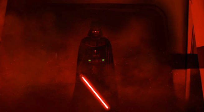 Image of Vader from Rogue One