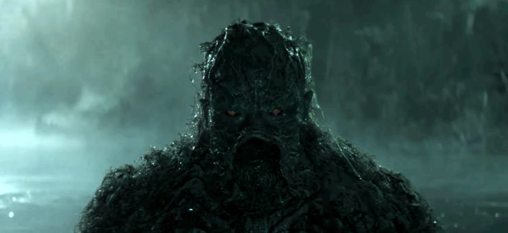 DC Universe Previews Swamp Thing's Arrival