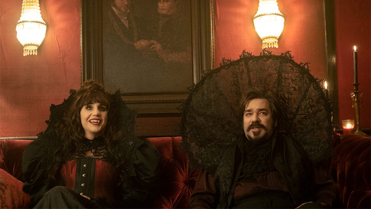 What We Do in the Shadows on FX, Nadja and Lazlo
