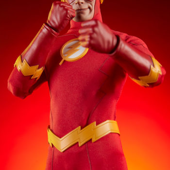 The Flash Sixth Scale Figure Exclusive Edition Dramatic Lit Shot