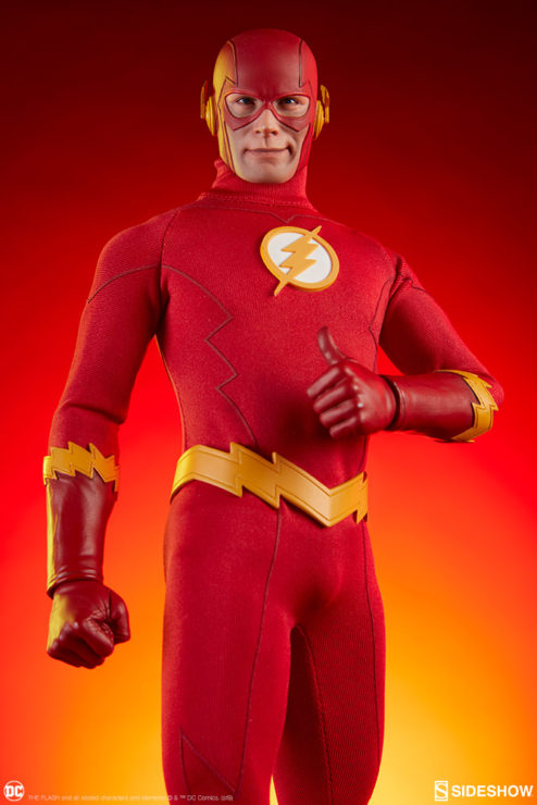 The Flash Sixth Scale Figure Thumbs Up Pose